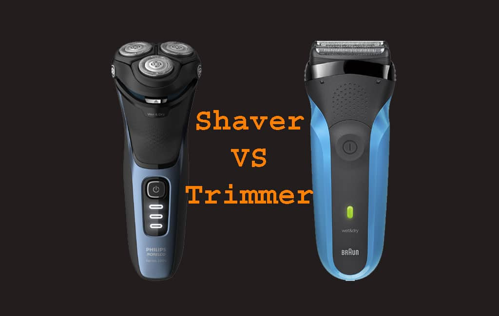 Differences between Shaver a Trimmer