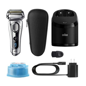Braun Series 9 9290cc Mens Wet Dry Electric Shaver with Clean Station